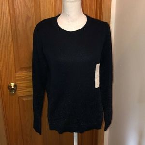 A New Day NWT Medium Blue Long Sleeve Sweater